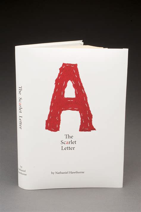 Book Designer Cover Letter by The Scarlet Letter Book Cover On Behance