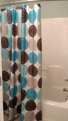teal and brown shower curtain 1000 images about bathroom bedroom decorations on