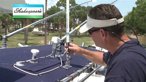 small boat vhf antenna troubleshooting your marine antenna installation youtube