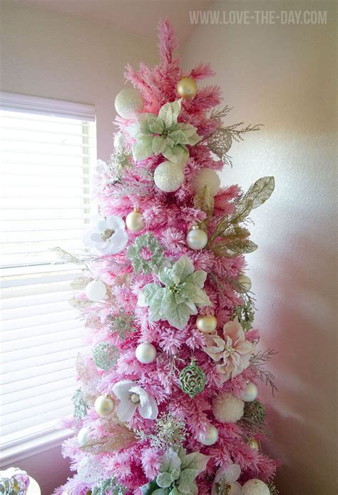 pink tree ideas pink gold tree the day