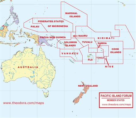 map of south pacific the reviewer library pacific island forum map the world s