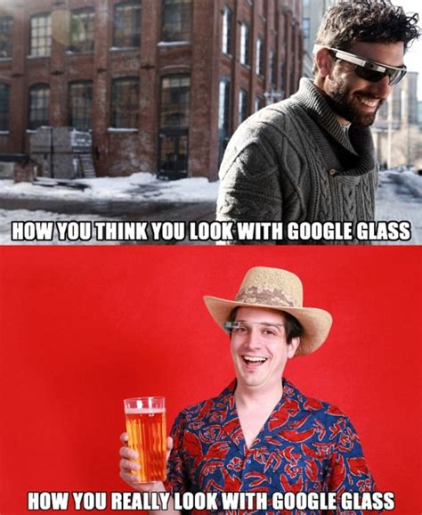 Glasses Off Meme - google glass dorkiness of early fans may kill off the