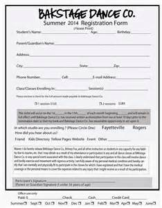 class registration template forms related keywords suggestions forms