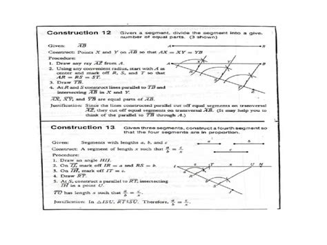 Constructions Worksheet by 100 Construction Worksheets Geometry Resume And Cv