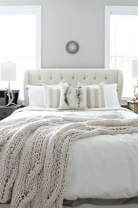 neutral comforter 20 beautiful guest bedroom ideas my mommy style