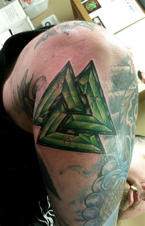valknut tattoo valknut by danktat on deviantart