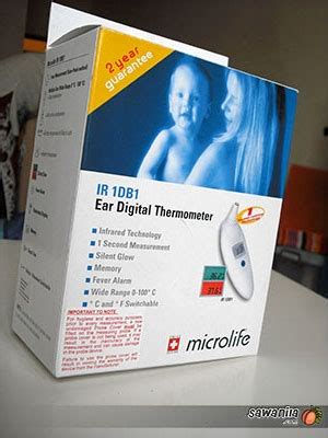 Thermometer Di Farmasi microlife ear digital thermometer sawanila