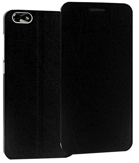 Flipcase Leather Flipcover Xiaomi Mi4i pudini leather flip covers for xiaomi mi4i black flip covers at low prices snapdeal