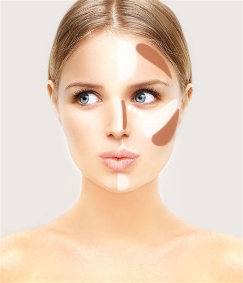 how to apply makeup to hide jowls and fatten cheeks how to contour using makeup