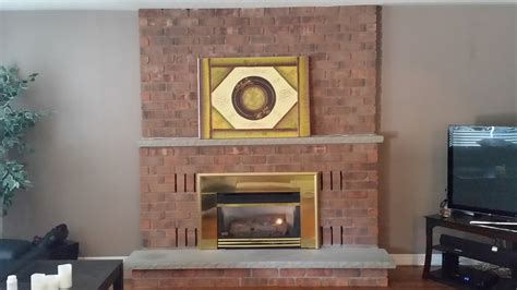 Gas Fireplace Upgrade by Gas Fireplace Update Diy The Joys Of Jodi