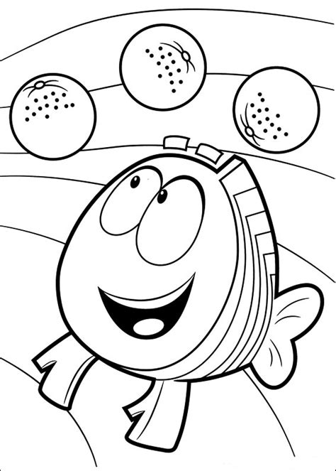 Bubble Guppies Coloring Pages Best Coloring Pages For Kids Guppies Printable Coloring Pages