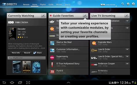 directv releases tablet app for android droid - Directv App For Android Tablet