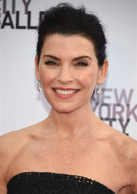 julianna margulies new hair cut julianna margulies messy updo updos lookbook stylebistro