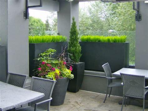 restaurant patio planters moxies restaurant patio planters greenscape design decor