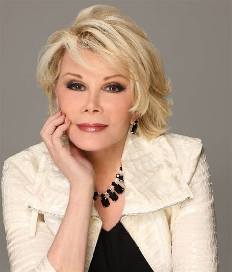 Joan Rivers Mourns The Passing Of by A Fashion Writer Remembers Joan Rivers For The