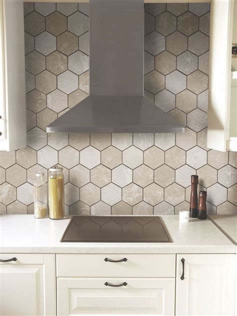 36 eye catchy hexagon tile ideas for kitchens digsdigs top 28 hexagon tile backsplash 1000 ideas about