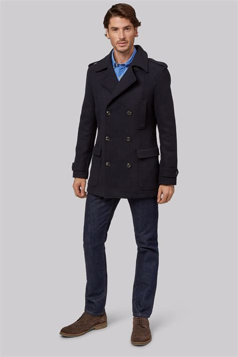 Jaket Pea Coat Navy Original U S A navy pea coats for tradingbasis
