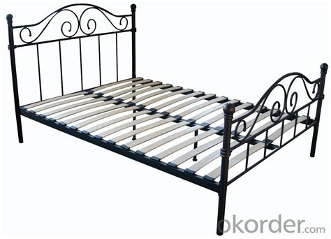 metal bed frame with wooden slats buy metal single bed with modern design with wooden slats