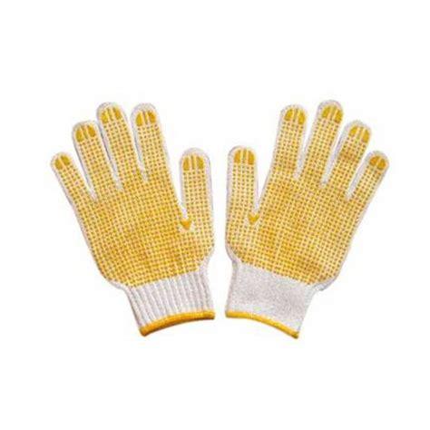Sarung Tangan Kain Bintik sarung tangan kain bintik karet dotting gloves