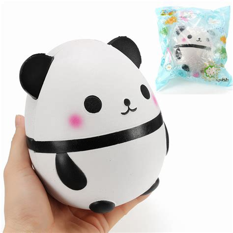 Squishy Panda Hat Berkualitas 1 squishy panda doll egg jumbo 14cm rising with packaging collection gift decor soft squeeze