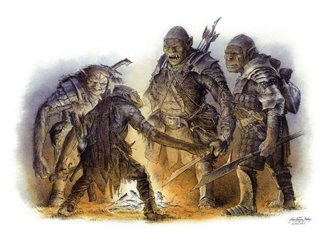 orcs debate color by turnermohan on deviantart