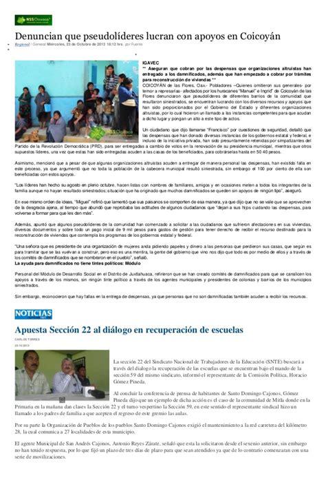 24 octubre 2013 recursos socioeducativos sintesis informativa 24 octubre 2013