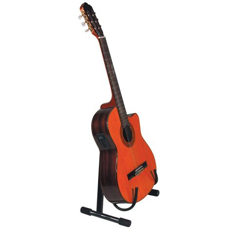 Stand Gitar Isi 3 Stand Gitar quiklok low a frame acoustic guitar stand black at gear4music
