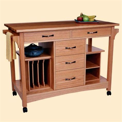 Portable Kitchen Island Plans Click Here For Free Project Plans For This Portable Kitchen Work Station Click To Enlarge