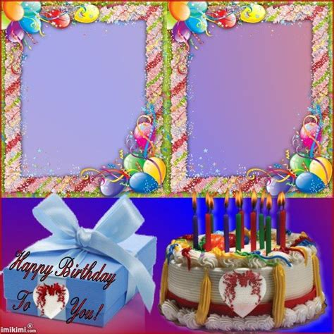 happy birthday photo frame template 105 best images about birthday frames on