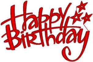 happy birthday embroidery designs free machine embroidery