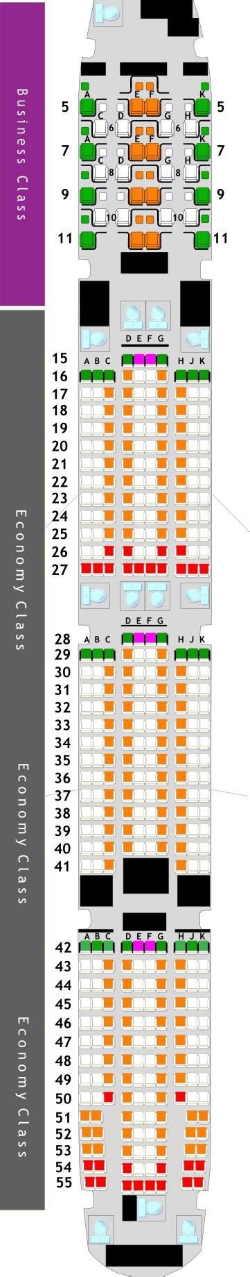 boeing 777 300er seat map boeing 777 300er seat map