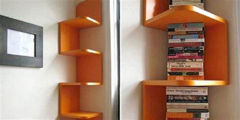 Rak Dinding Gantung Sudut Ruangan artikel trend rumah