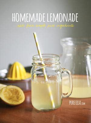 homemade malibu treatment lemonade pics homemade condiments no sugar