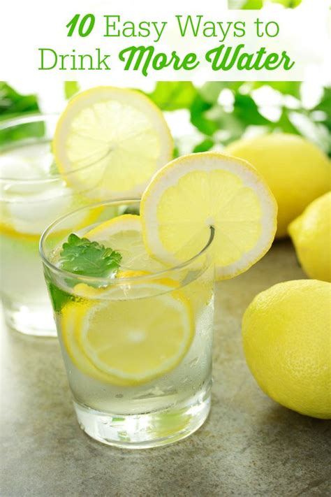 7 Ways To Drink More Water by 25 Best Ideas About Drink More Water On Water