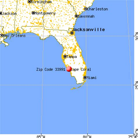 cape cod florida map 33991 zip code cape coral florida profile homes