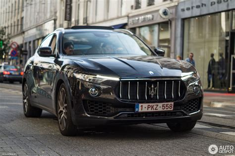 levante maserati black maserati levante s 5 september 2016 autogespot