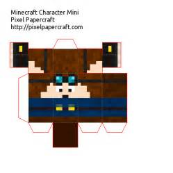 Minecraft Paper Folds - papercraft dantdm mini