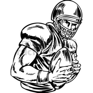 quarterback    pass cartoon clipart images