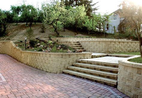muretti giardino muretto di contenimento terra