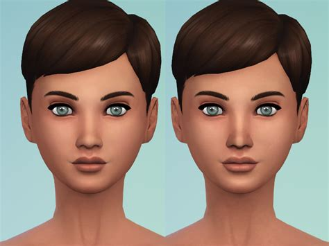 sims 4 skin my sims 4 blog updated non default female skintone v2 by