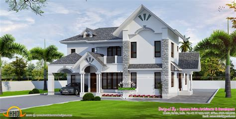 modern european house plans european style modern house kerala home design floor plans architecture plans 40361