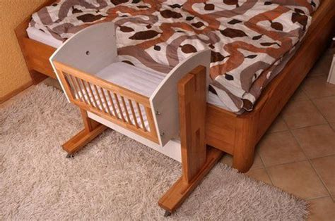 bed attached crib baby cribs attached parents bed loving quilts