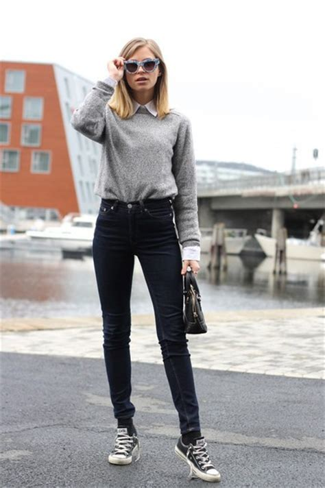 Combo Ripped Highwaist shoes the fashion eaters black high