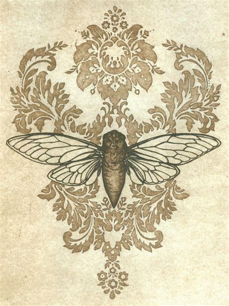 cicada song print by wrenegade press cicada tattoo