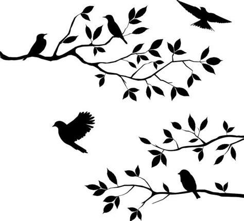 printable wall stencils birds trees stencils printables free tree branch stencil birds