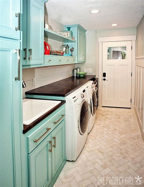 laundry room floor cabinets beautiful laundry room floor tile love the colorful
