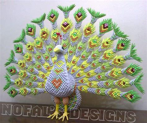 tutorial pavo real origami 3d origami 3d tutorial pesquisa google artesanatos