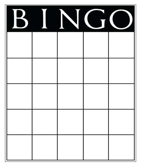 Editable Bingo Card Template Cards Sight Words Vocabulary Spelling Math Terms Anything Generator Blank Bingo Card Template
