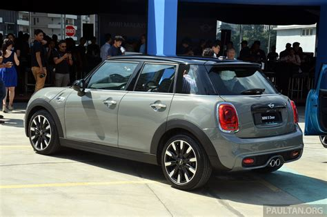 Mini 1 Dan Mini 2 mini 5 door launched in m sia cooper s rm238 888 image