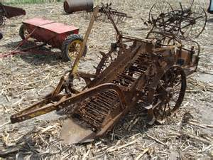 Single Row Planter by Potato Digger